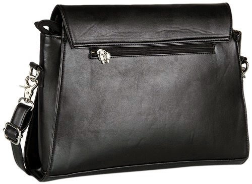 Butterflies Handbag (Black) for Rs 699