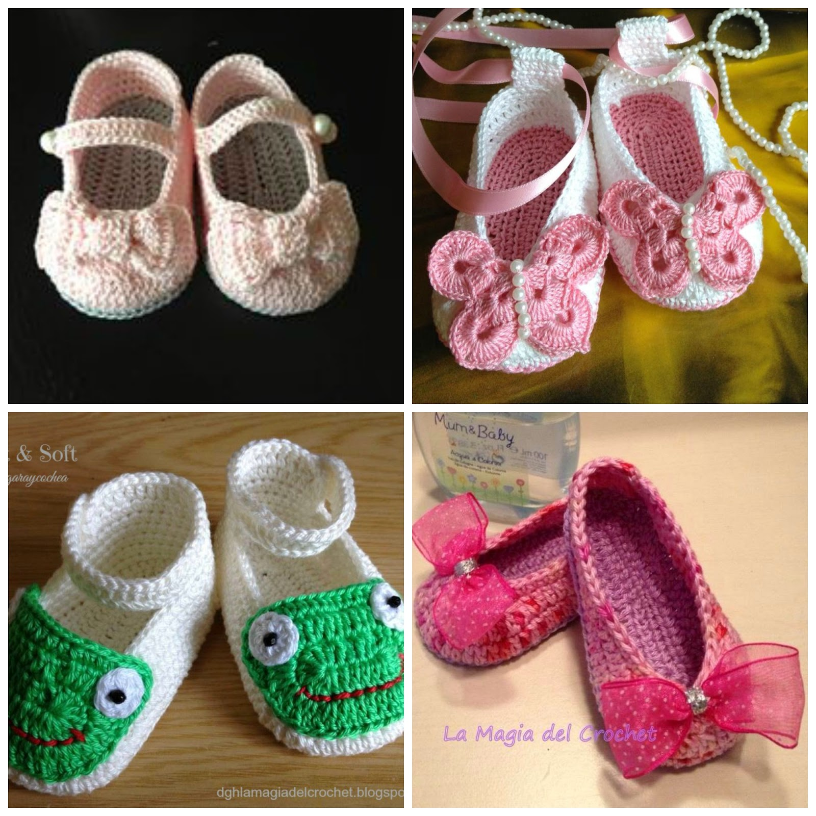 Zapatos de beb a crochet paso a paso con v deo tutorial for Manualidades con palets paso a paso