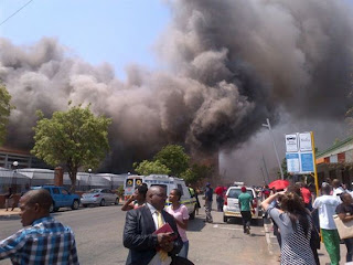 Fire at Polokwane court