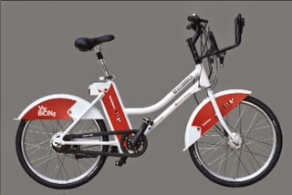 ebing bicing eléctrico barcelona bicicleta
