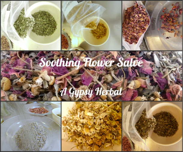 DIY Herbal Soothing Flower Salve