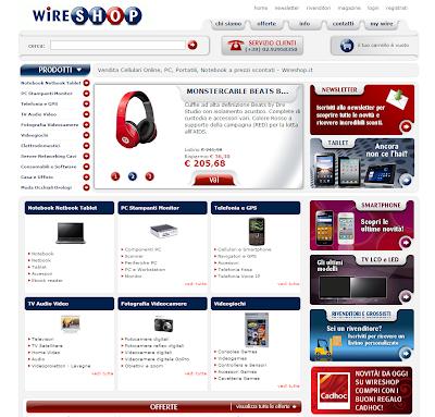 Smartphone con Sconti fino al 20% su WireShop! Risparmiare Online