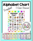 http://www.teacherspayteachers.com/Product/Polka-Dot-Alphabet-Chart-750593