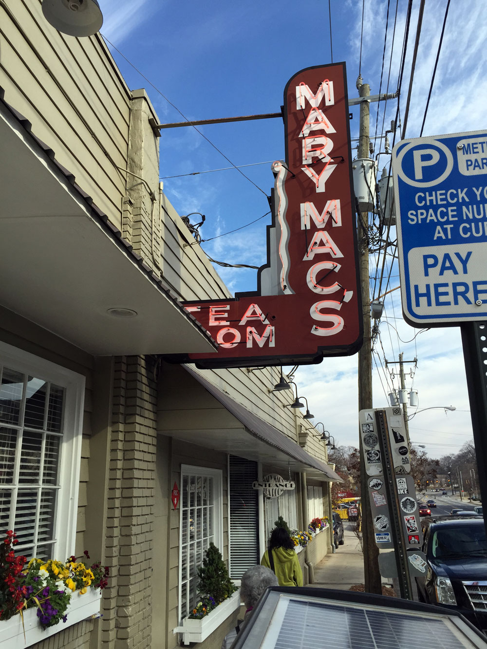 Independent Restaurant Review: Mary Mac\'s Tea Room - Old Fourth ...