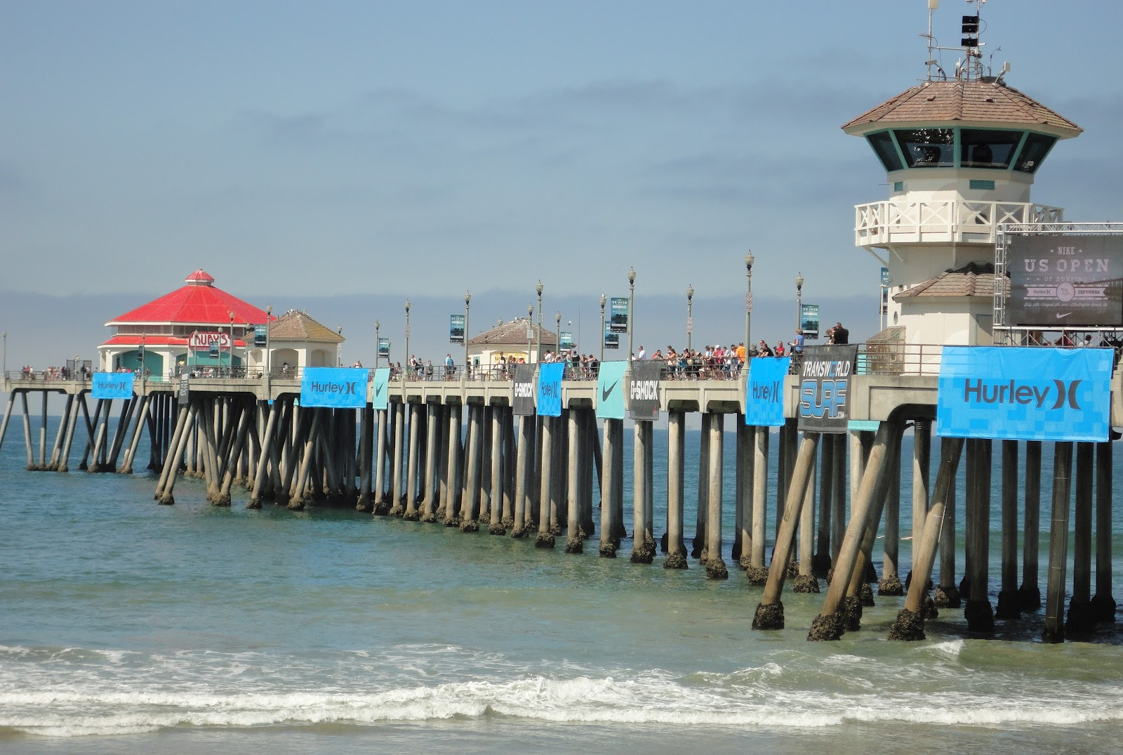 Surfwriter Girls Huntington Beach Hosts Surfers At Open