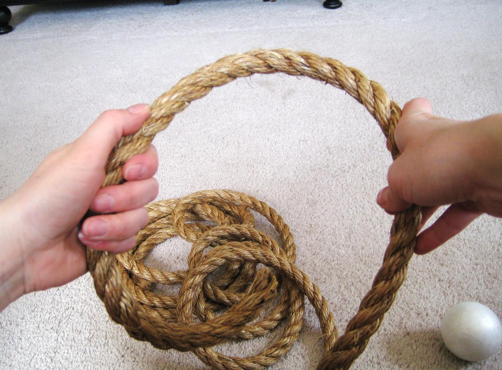 Поделки из веревок фото