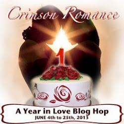 Crimson Romance Anniversary Blog Hop-A Year in Love