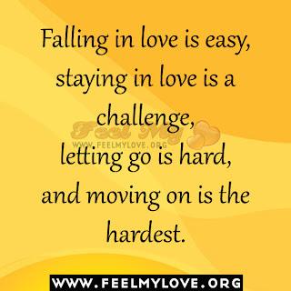 Falling in love is easy