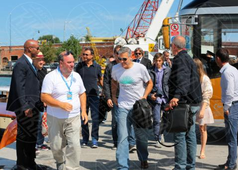 George Clooney arrives in Venice Venise4