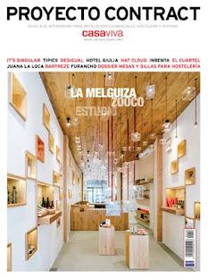 Revista para diseñadores de interior: retail, hostelería, oficinas y espacios públicos
