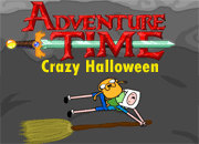 Adventure Time Crazy Halloween