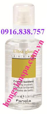 Tinh dầu Fanola Ultra Gloss - Điều trị tóc chẻ ngọn - Made in Italy