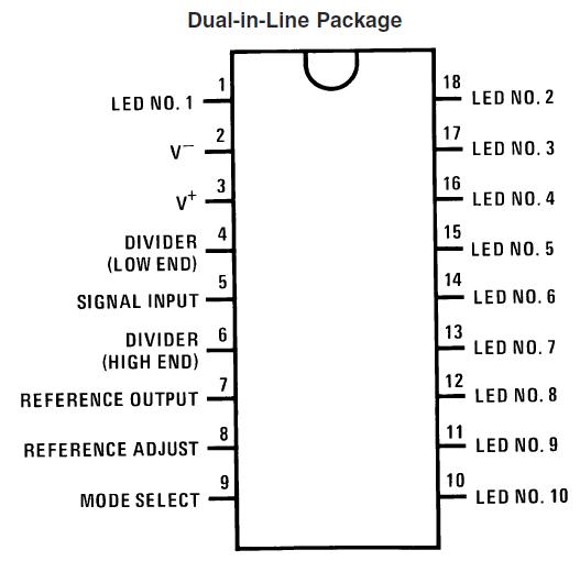 electronics for bharat  lm3914 based voltage measurement
