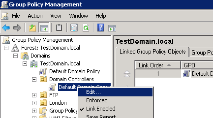 Steps to enable Event 4768 via Group Policy