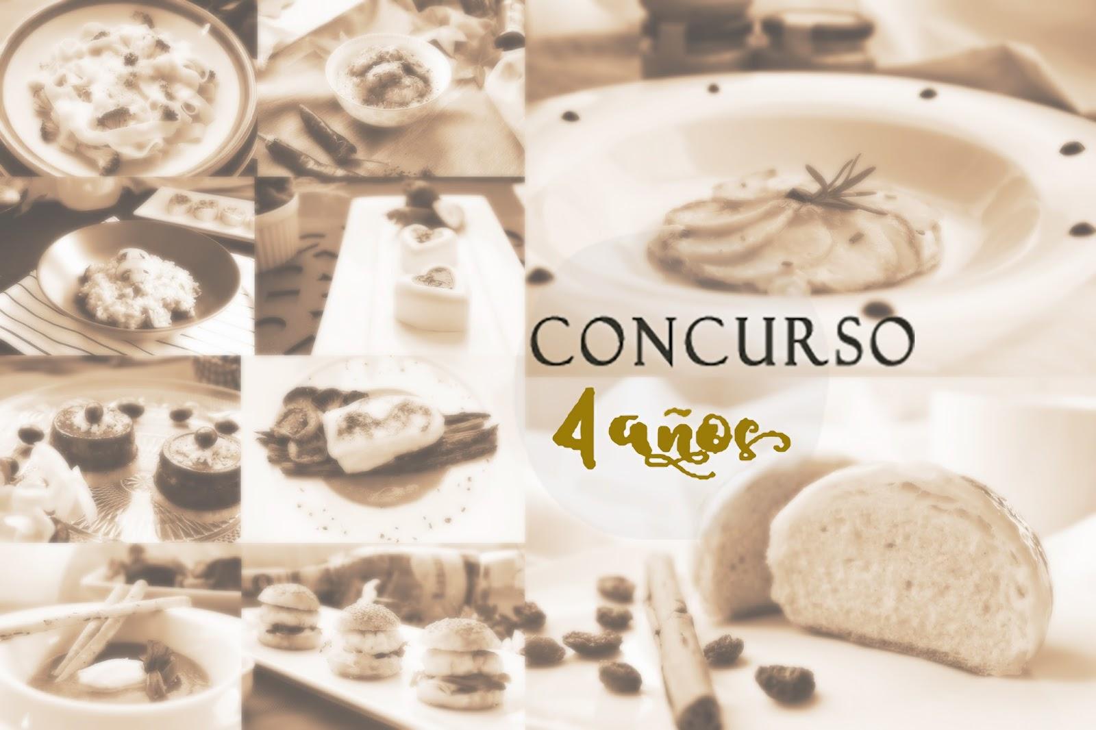 4º Cumple blog de las Chachas