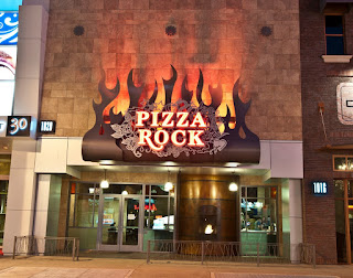 Pizza Rock offers how many styles of pizza?!?!