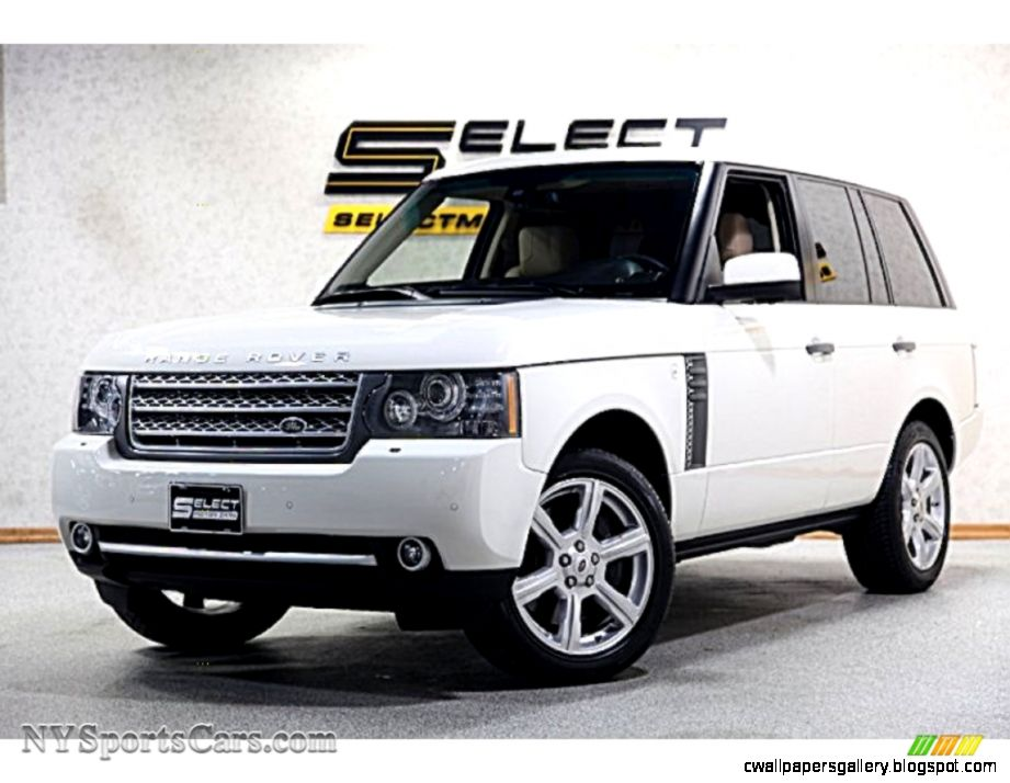 2010 White Range Rover for Sale