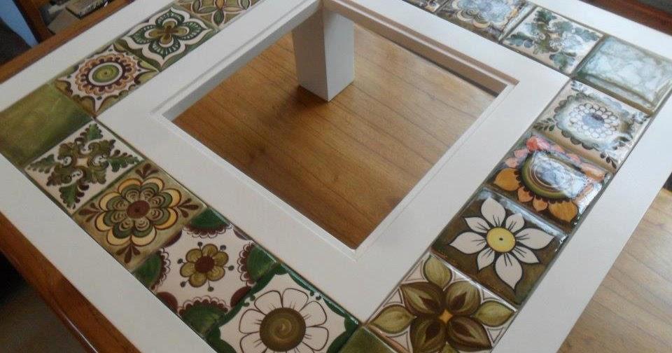 Originales mesas ratonas de madera con tocetos artesanales for Diseno de mesa de madera con vidrio