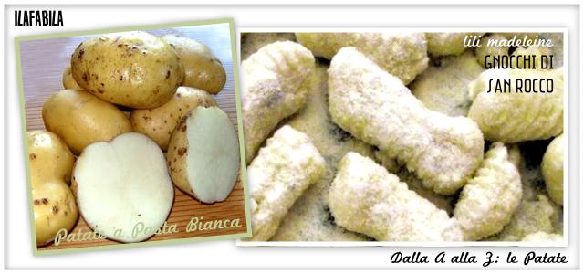 Patate a Pasta Bianca - Gnocchi di San Rocco - Lili Madeleine