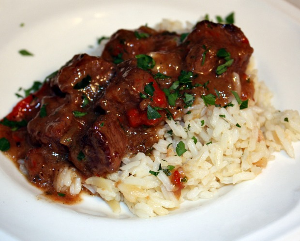 Recipes For Divine Living: Beef Tips in Gravy