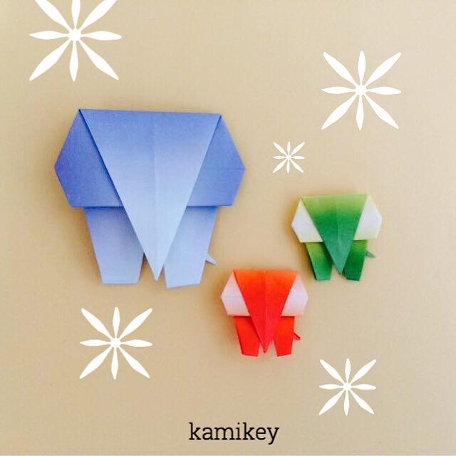 クリスマス 折り紙 折り紙 ぞう : origamilabo.blogspot.com