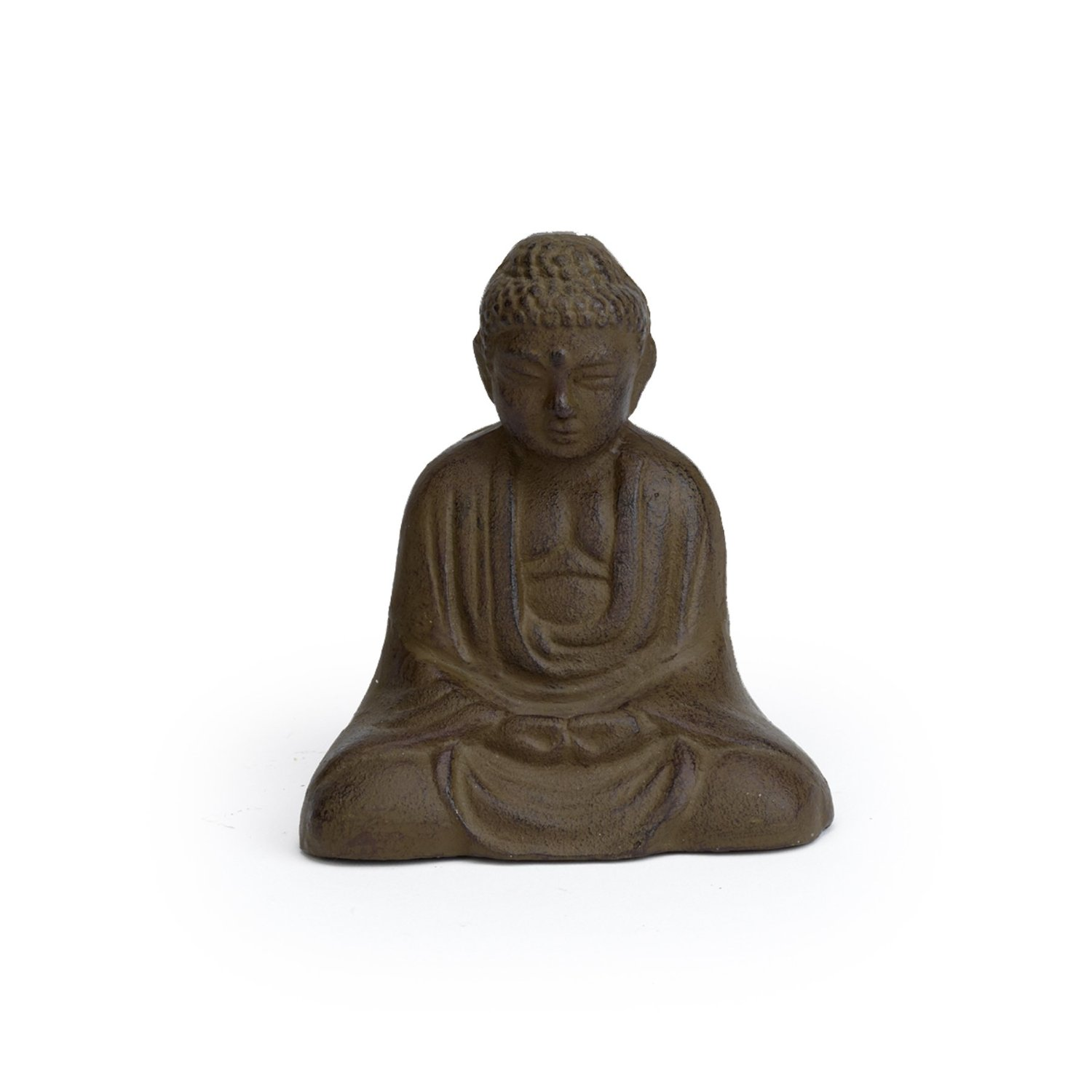 small iron garden buddha statue garden buddha statues. Black Bedroom Furniture Sets. Home Design Ideas