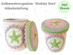 Ebook Aufbewahrungsdose Shabby Stars