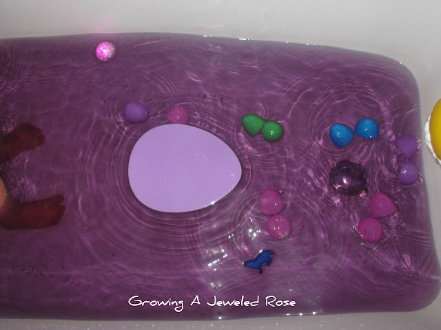 Easter Bath activity