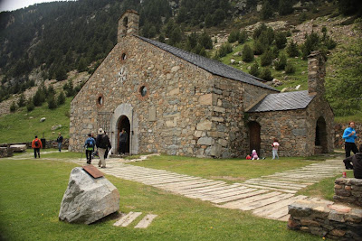 Sant Gil chapel in Vall de Núria