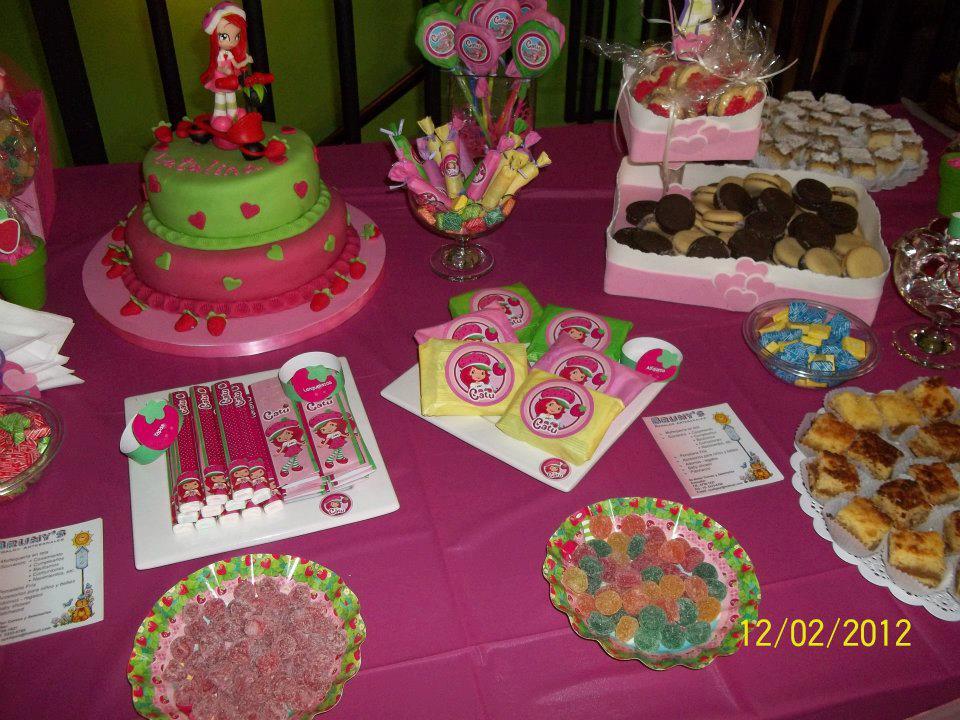 Brunys Eventos: Cumpleaños Tematico: FRUTILLITA
