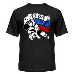 wwe рестлинг футболка