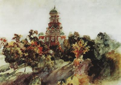 Church in Dyakovo by Surkov