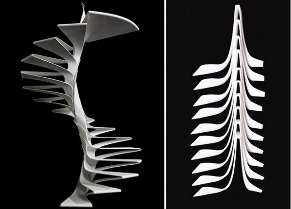Spiral Staircase, Folio Staircase from italian designers