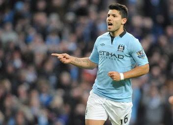 Agüero le puso picante al Manchester City vs Real Madrid