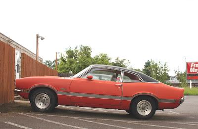 1972 Ford Maverick Grabber.