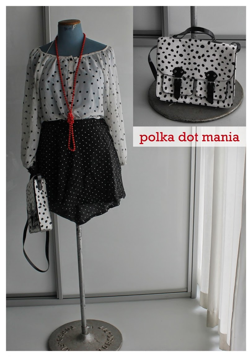 Polka Dots Top Shorts