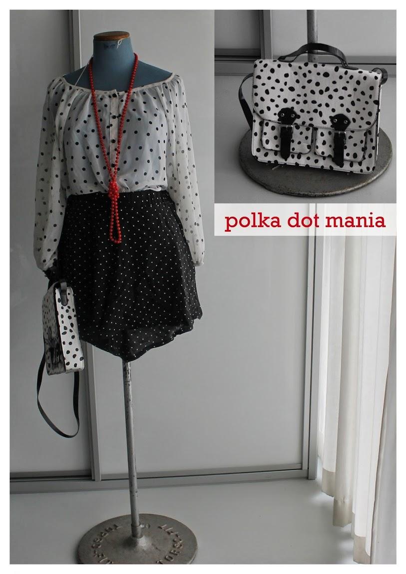 Polka Dots Top Shorts