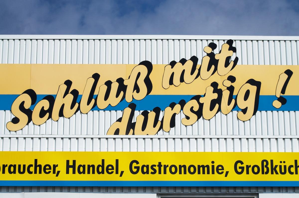 Lekker Bier - Bierenblog voor Fijnproevers: Schluß mit Durstig!