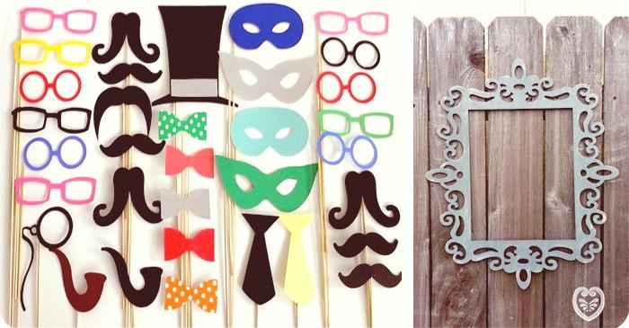 Unos ejemplos de accesorios para animar vuestro photocall, de Creative