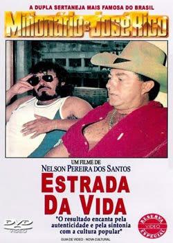 Filme Poster  Estrada da Vida – Milionário e José Rico VHSRip XviD Nacional