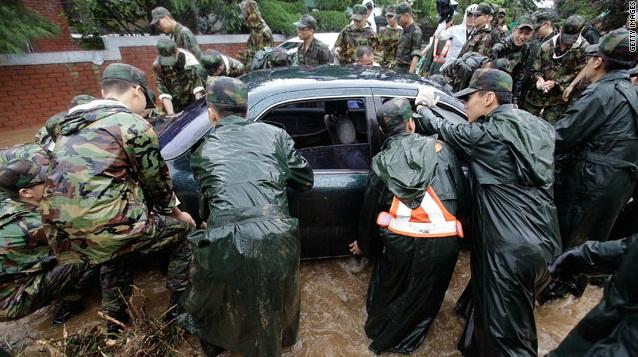 Hujan Bersejarah di Korea Selatan