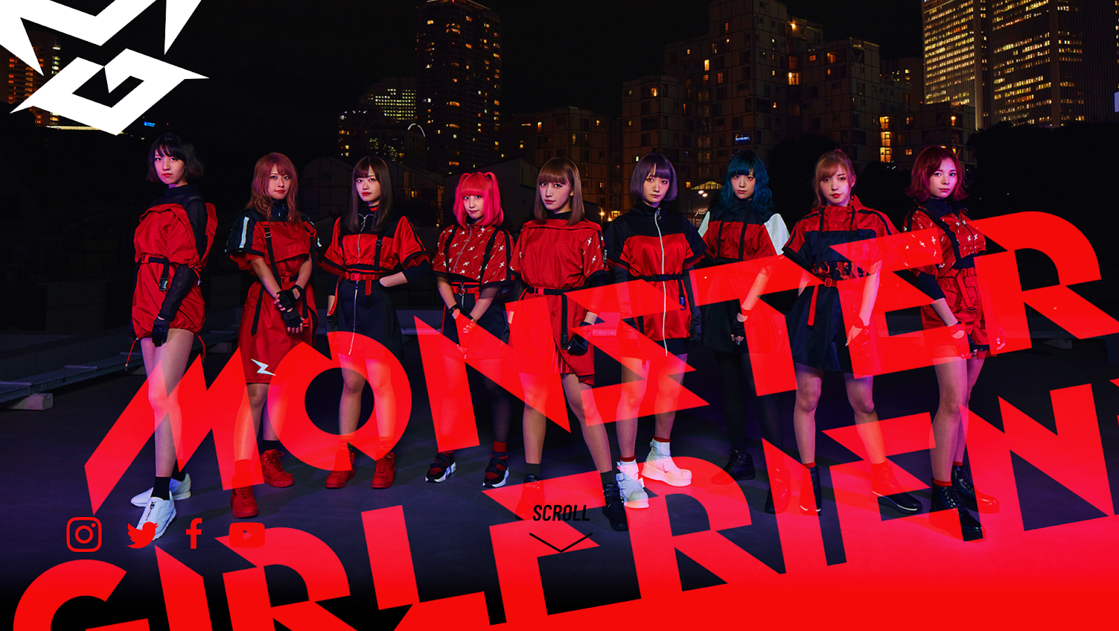 MONSTER GIRLFRIEND「GAM」MV
