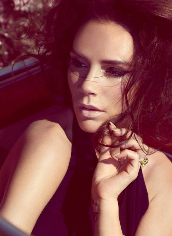 Victoria Beckham in UK Harper's Bazaar May 2012 by Camilla Akrans