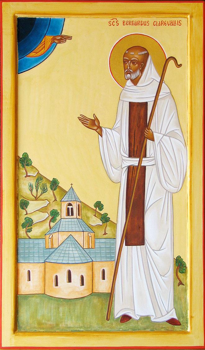 San Bernardo di Chiaravalle dans immagini sacre bernard