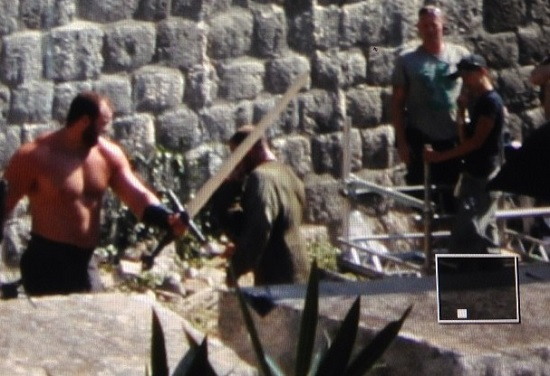 juego de tronos rodaje cuarta temporada Dubrovnik Gregor Clegane - Juego de Tronos en los siete reinos
