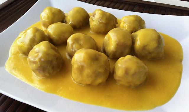 Hoy comemos sano alb ndigas en salsa espa ola - Albondigas tradicionales ...