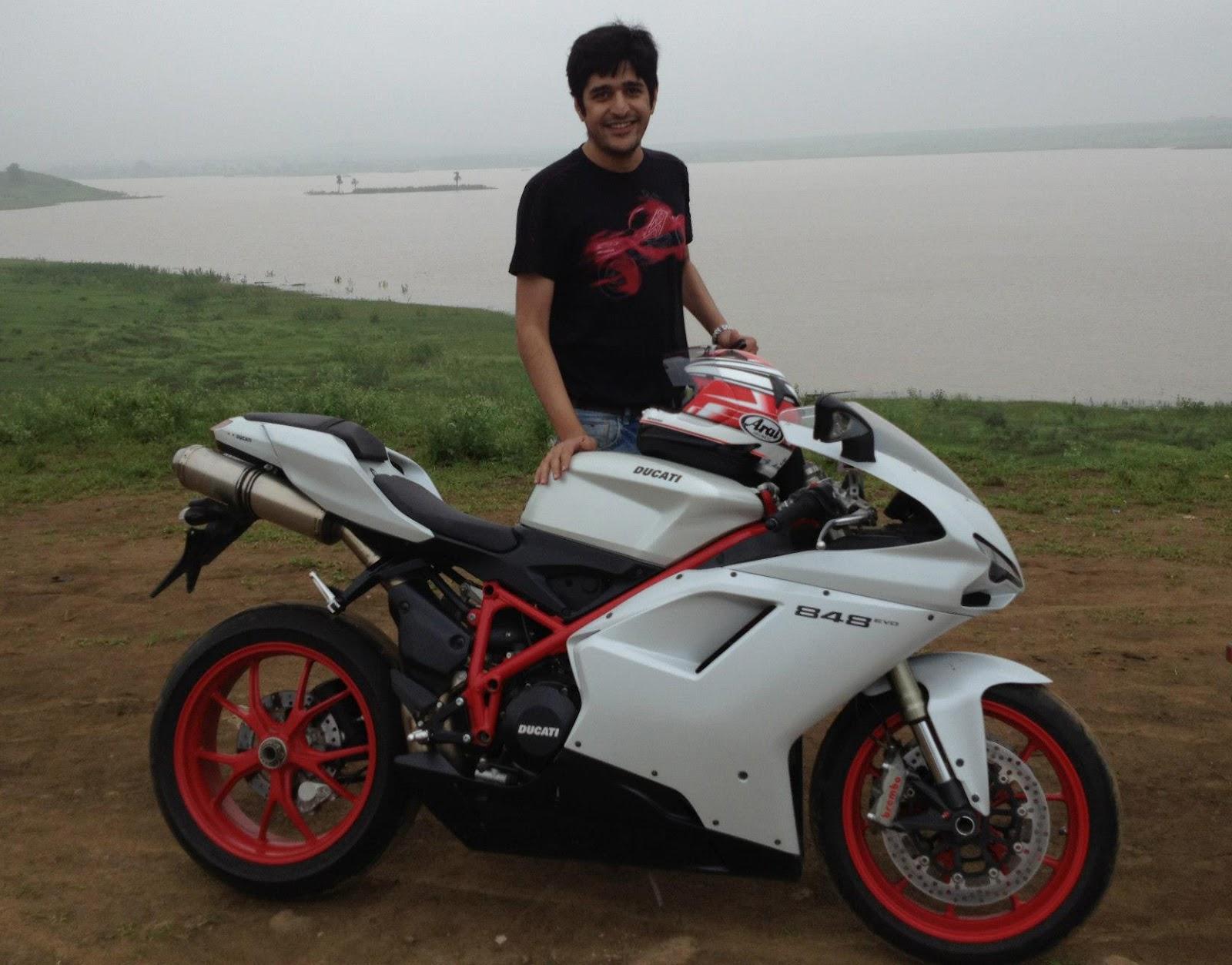 Life With A Superbike: 59. Samyak's Ducati 848 Evo, 2012