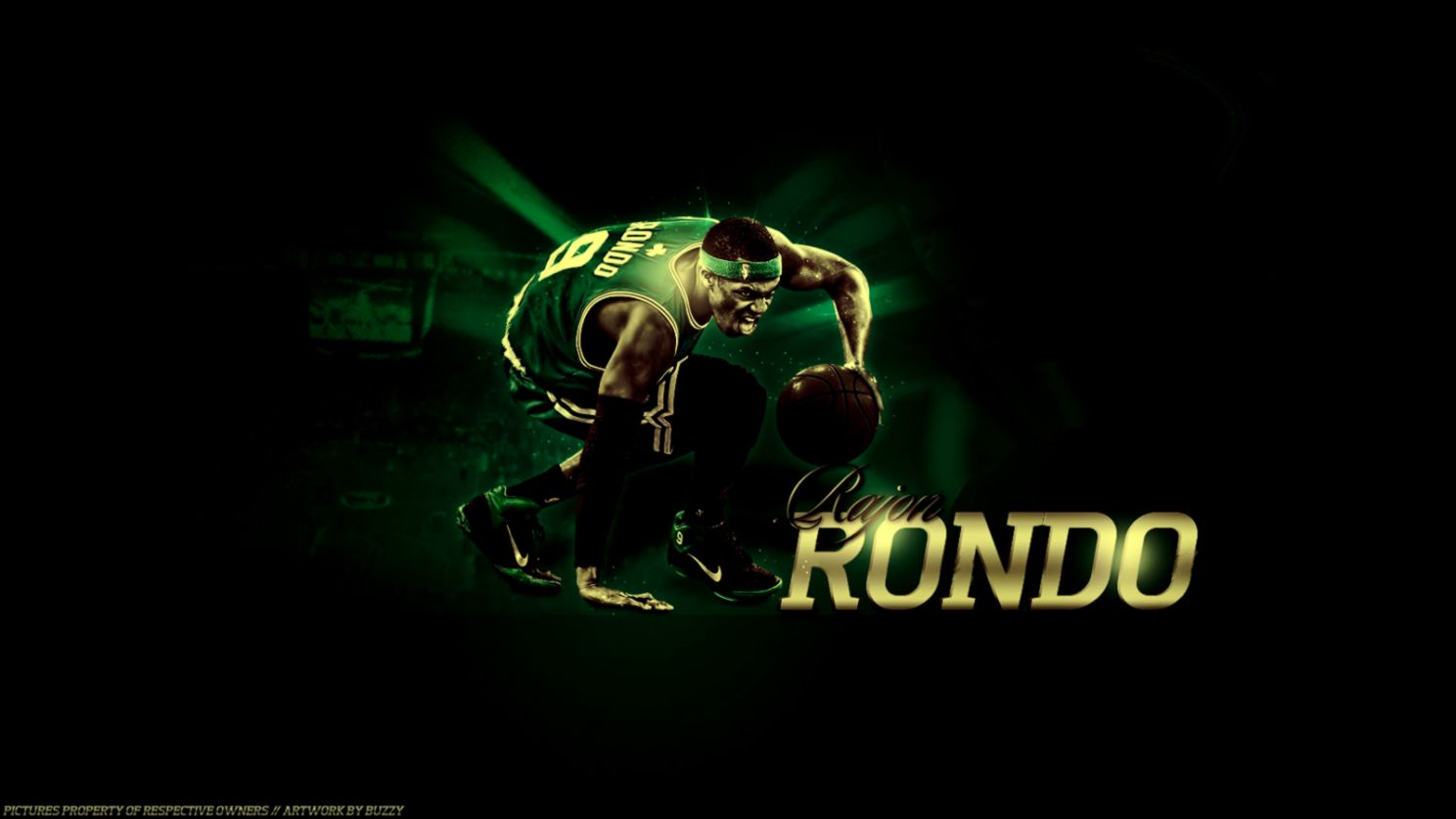 Rajon Rondo Wallpapers  Basketball Wallpapers at