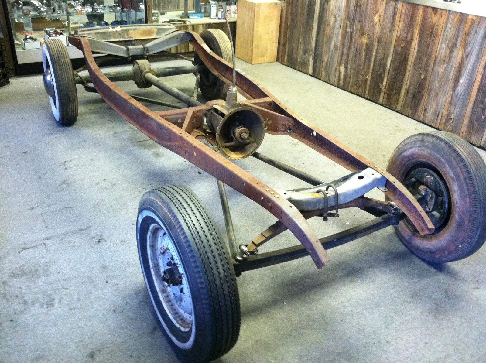 Joe Smith Early V8 & Hot Rod: 1932 Ford Chassis -FOR SALE- Sold