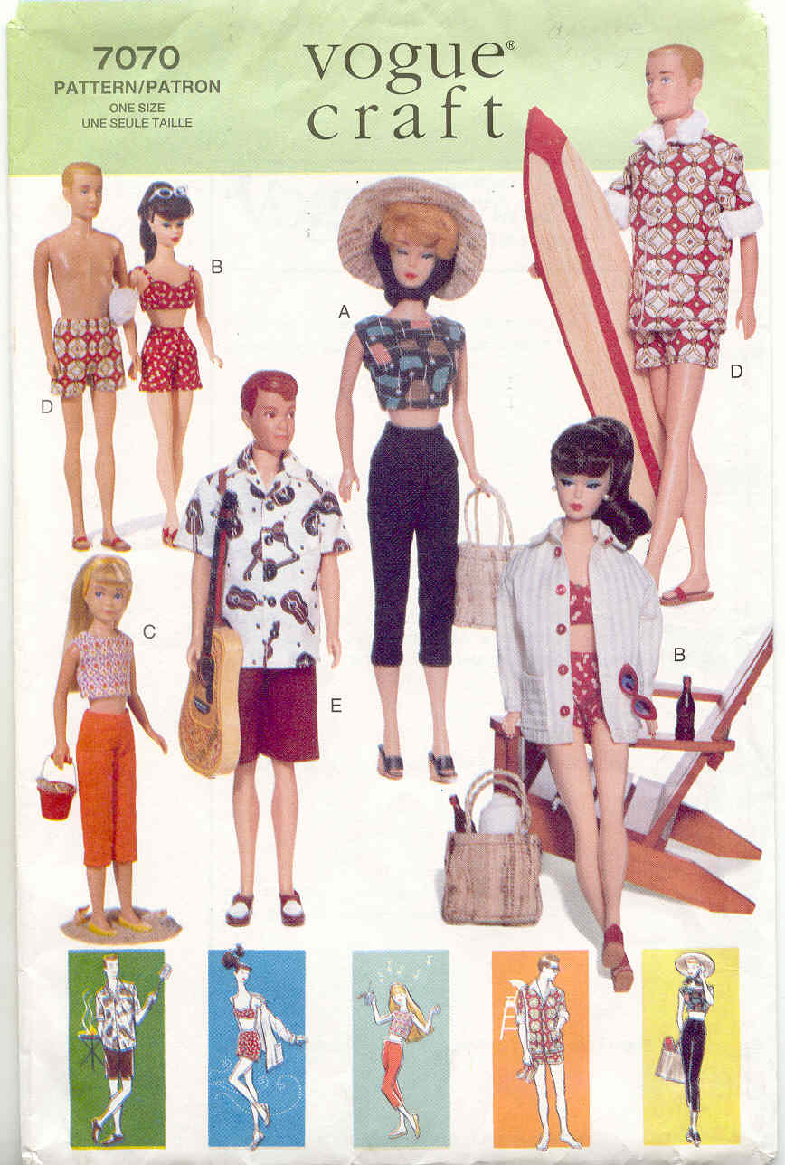 Fashion doll sewing patterns free 21